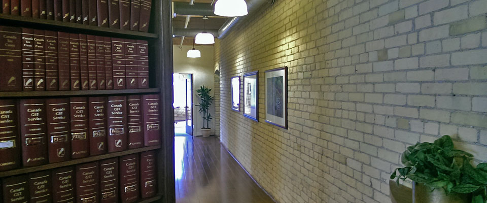 Millar Kreklewetz LLP Hallway to Tax Lawyers